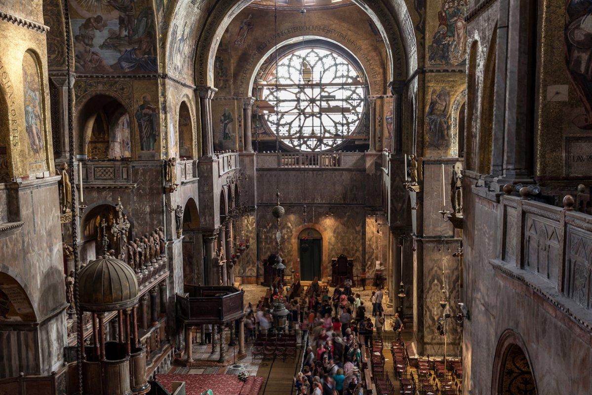 Tour guid de groupe la basilique saint marc apr s les for Domon st eustache heure d ouverture