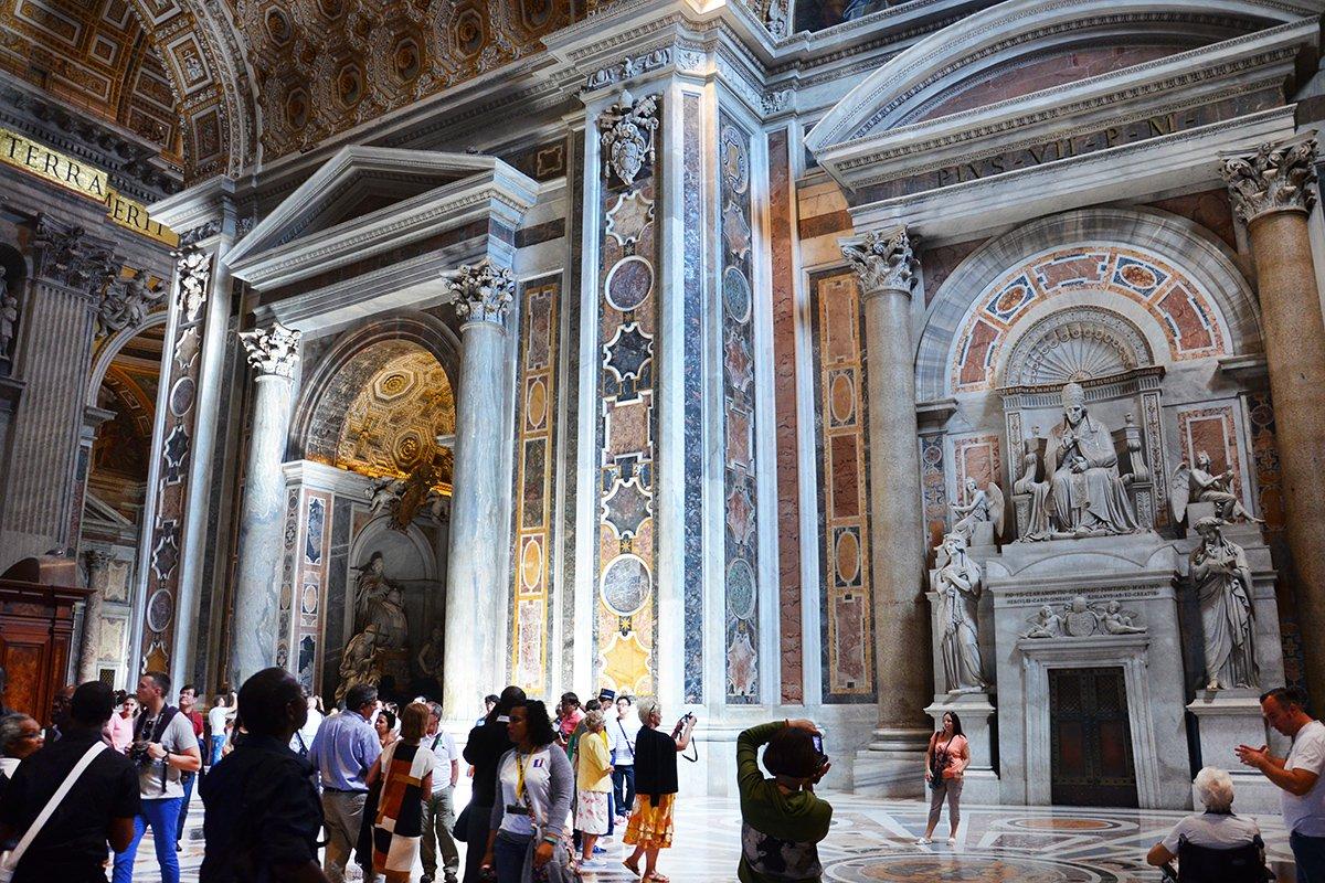 Basilica di san pietro e studio del mosaico vaticano - Le finestre sul vaticano ...