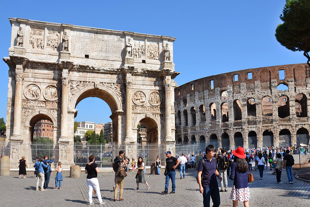 colosseum and imperial rome group tour italy museum