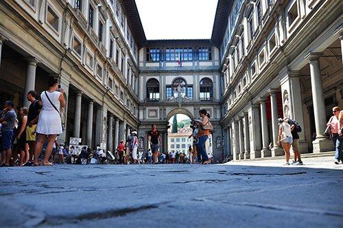 A Galeria Uffizi
