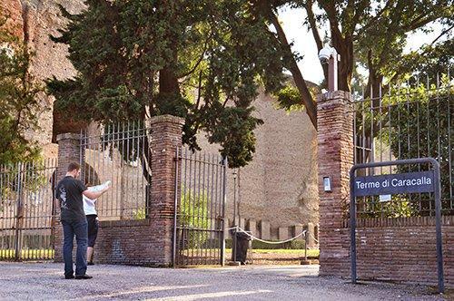 卡拉卡拉古罗马温泉浴场遗址