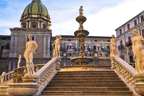 Zur Entdeckung von Palermo