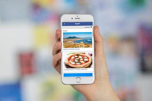 Audioguía de Nápoles: descarga la app!