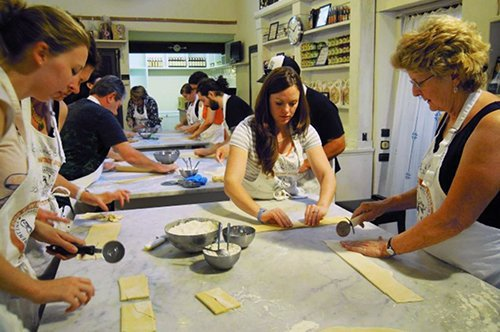 Clase de cocina en Florencia con visita al mercado
