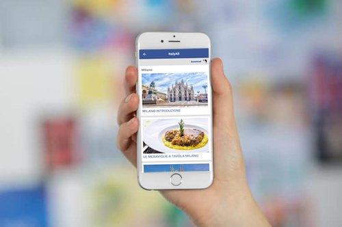 Audioguia de Milão: baixe o app!