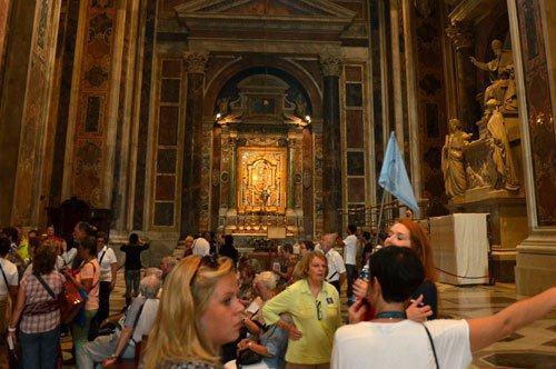 Basílica de São Pedro e Estúdio do Mosaico do Vaticano – Passeio Combinado