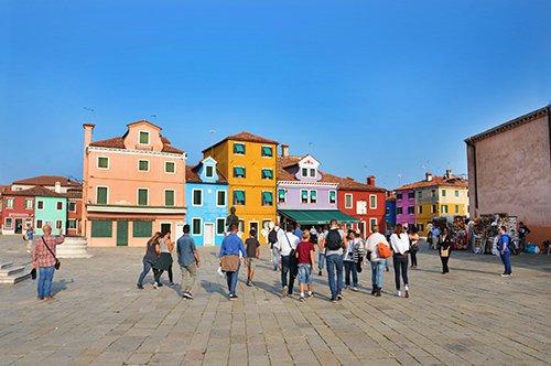 Burano, Murano und Torcello - Besichtigung der Inseln Venedigs