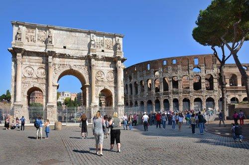Coliseo, Palatino y Foro Romano - Tour de 3 horas + Mapa de Roma