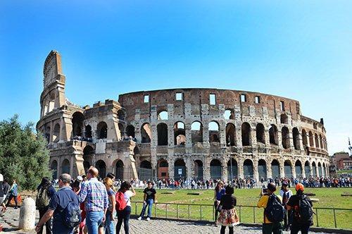 罗马斗兽场和古罗马帝国主题团队行程