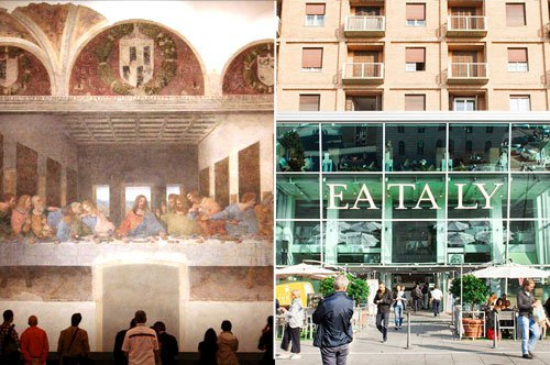 Last Supper by night- exclusive opening and dinner at Eataly