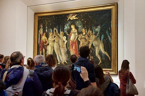 【非中文】佛罗伦萨城市步行和乌菲兹博物馆团队参观- 组合团