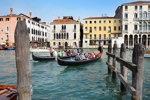 Venedig Gondelfahrt mit Livemusik