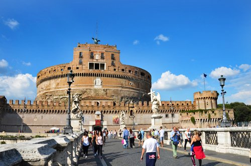 Group Guided tour to the Castel Sant'Angelo Secrets