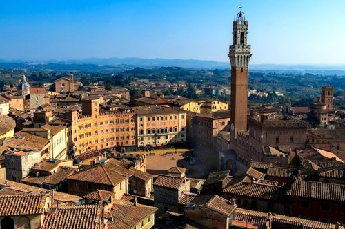 Group Guided Tour to Siena and San Gimignano with entrance to the Siena Cathedral