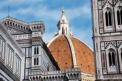 Gruppenführung der Florenz Kathedrale und ihrer Terrassen