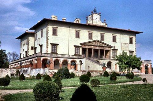 Gruppenführung der Medici-Villen