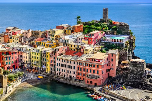 Group Guided tour to Le Cinque Terre