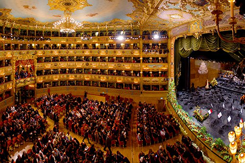Guided Tour of the Fenice Theater