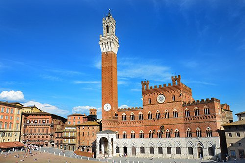 Group Guided Tour to Siena and San Gimignano