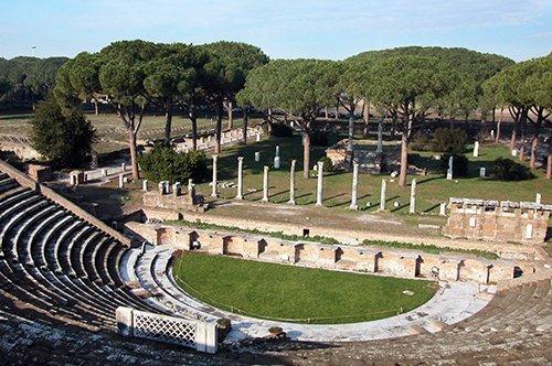 罗马奥斯提亚古城之旅-含官导讲解