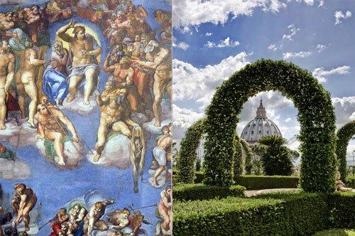 Os Jardins do Vaticano e a Capela Sistina - Visita guiada