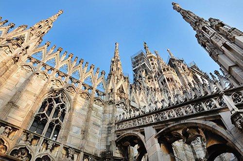 Kathedrale von Mailand und Terassen Führung