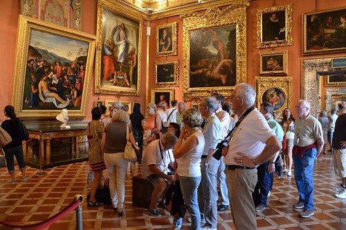 皮蒂宫 – 帕拉提美术馆(Galleria Palatina)专业导游解说团队行程