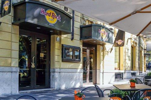 Panoramafahrt im offenen Bus und Mittagessen im Hard Rock Cafe