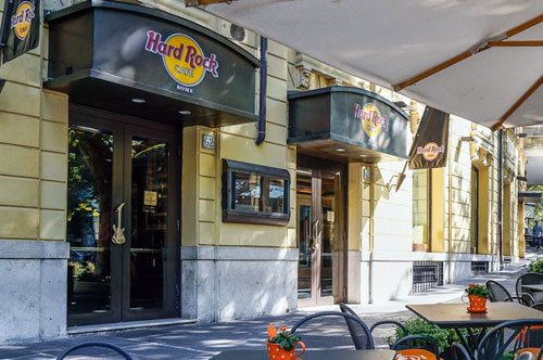Panoramic open bus tour and lunch at the Hard Rock Cafe