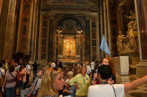Petersdom und Mosaikwerkstätten - Kombinierte  Führung
