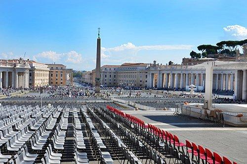 Roma – Passeio de ônibus e Audiência Papal