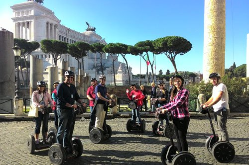 Segway Group Tour in Rome