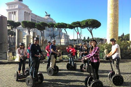 罗马赛格威代步器城市之旅-团队行程