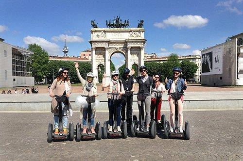 驾驶赛格威米兰城市之旅