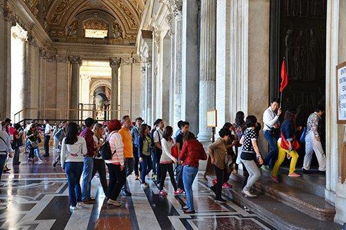 圣彼得大教堂团队参观行程-含官导讲解