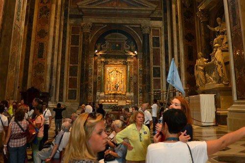 圣彼得大教堂和梵蒂冈马赛克艺术工坊探索-组合团