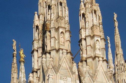 米兰大教堂露台登顶参观 - 含专业导游解说