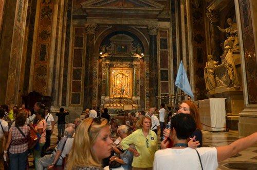 Basilica di San Pietro e Studio del Mosaico Vaticano - tour combinato