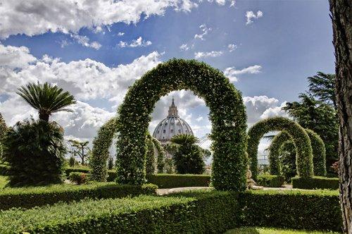 Les Jardins Vaticans - visite guidée en groupe