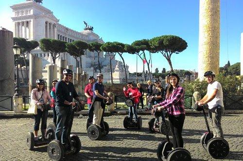 Tour de groupe en Segway à Rome