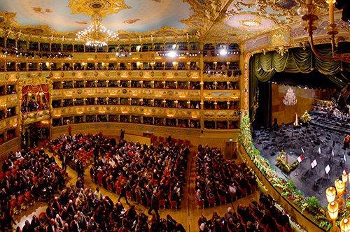 Tour guidé au Théâtre de la Fenice
