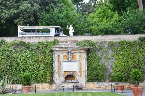 The Vatican Gardens - Open-top bus tour with audio guide