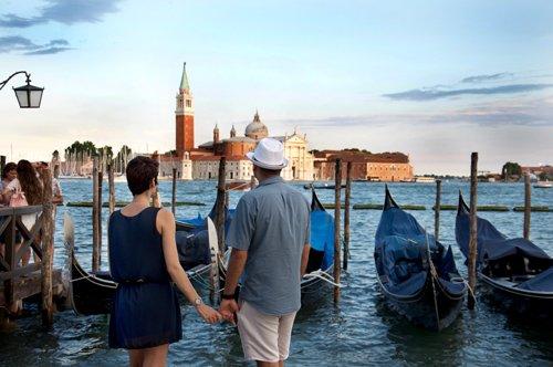 Veneza: passeio guiado a pé e passeio de gôndola