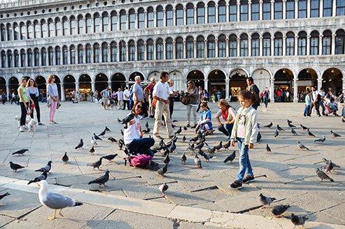 徒步漫游水城威尼斯
