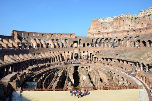 Visita de grupo guiada ao Belvedere do Coliseu