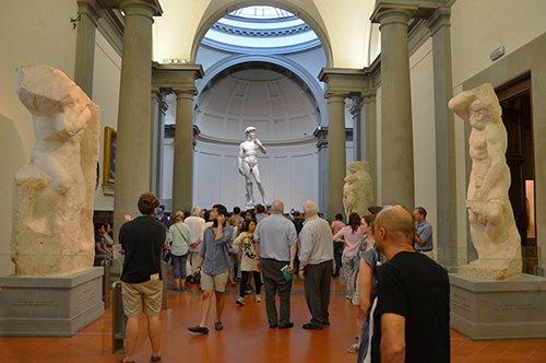 Visite guidée Galerie de l'Académie et Galerie des Offices