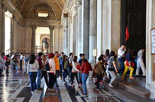 Visite guidée à la Basilique de Saint Pierre