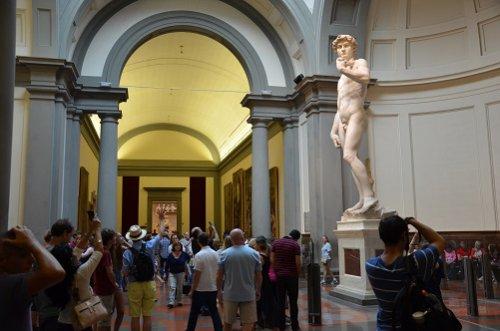 Visite guidée de Florence en bus et la la Galerie de l'Académie
