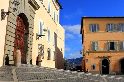 Visite guidée de Castel Gandolfo - départ de Roma S.Pietro