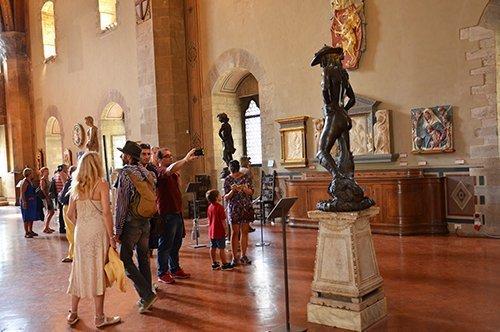 Visite Michel-Ange et Donatello
